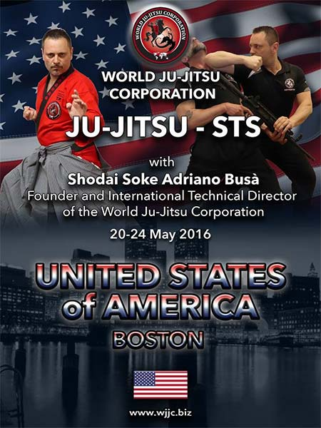 BOSTON USA - Ju-Jitsu - STS Meeting - May 20th to May 24th 2016