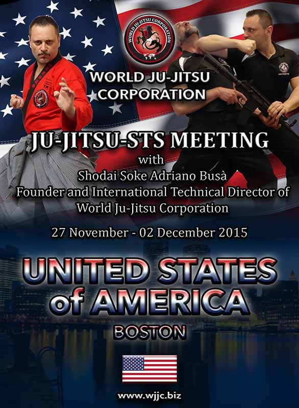 BOSTON U.S.A. - Ju-Jitsu - STS Meeting - Postponed to 2016
