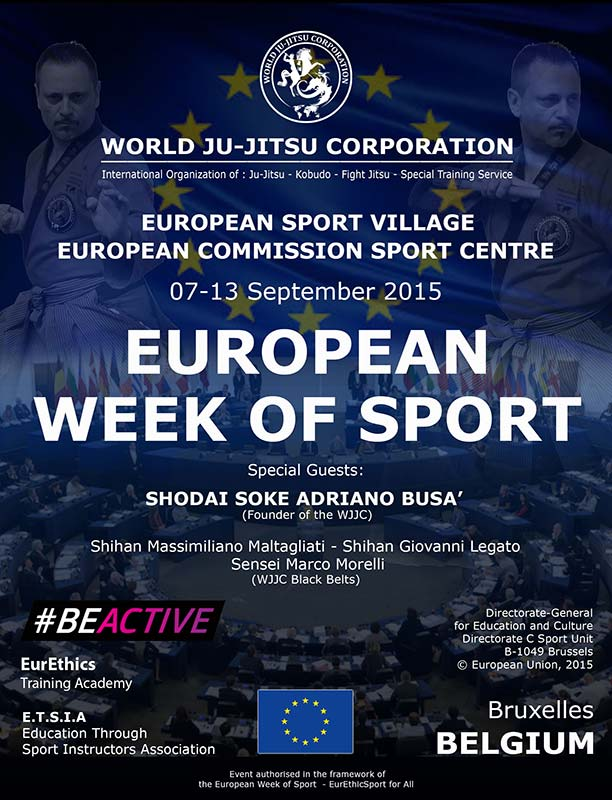 BRUXELLES - European Week of Sports