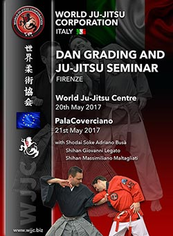 Firenze Ju Jitsu WJJC World Ju Jitsu Corporation Wjjf Seminar and Dan Grading
