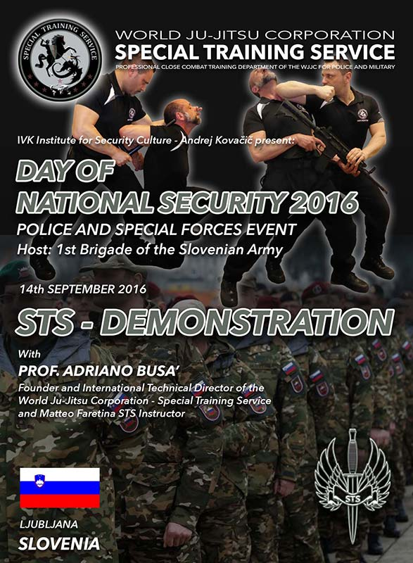 WJJC STS Day of National Security Ljubljana, Slovenia 14-09-2016