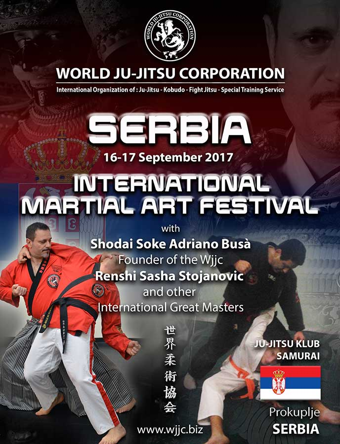 International Martial Art Festival SERBIA 16-17 September 2017
