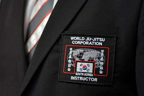 WJJC Chest Badge for Black Belt Winter Uniform