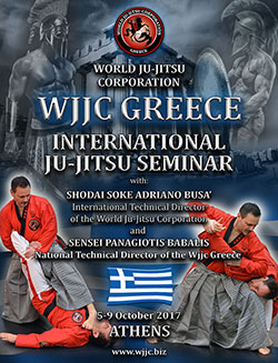 WJJC GREECE Ju-Jitsu Seminar 5-9 October 2017 Athens