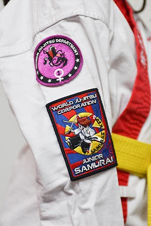 WJJC Junior Samurai Badge