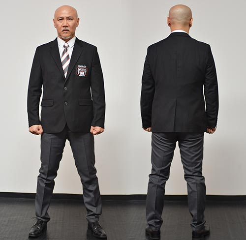 WJJC Winter Black Belt Uniform