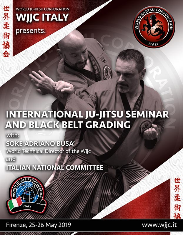 WJJC Italia Firenze 2019, May 25-26 Black Belt Grading
