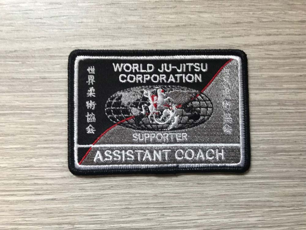 Wjjc Assistant Coach Badge World Ju Jitsu Corporation Wjjf