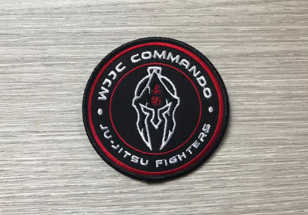 Wjjc Fighters Badge Ju Jitsu Fight Combat World Ju Jitsu Corporation Wjjf