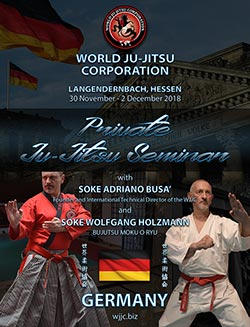 Wjjc Germany World Ju Jitsu Corporation Jiu Jitsu Soke Adriano Busa Soke Wolfgang Holzmann Ju Jutsu Germany Bushido tn