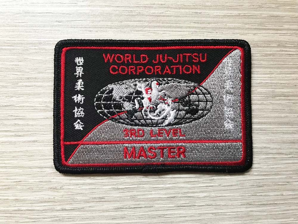 Wjjc Instructor 3rd Level Badge World Ju Jitsu Corporation Wjjf