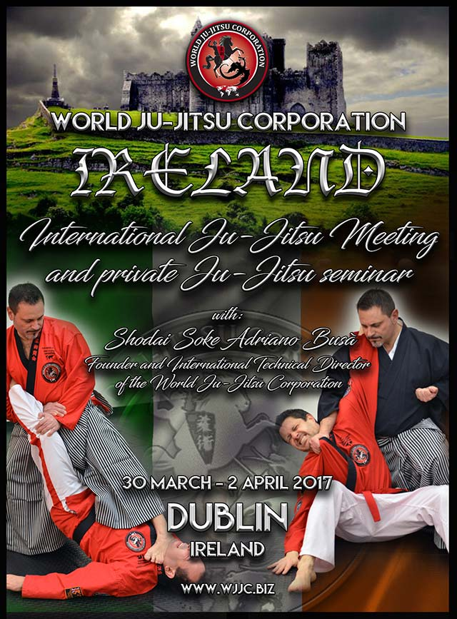 Dublin - WJJC Ireland March 30th to April 2nd, 2017