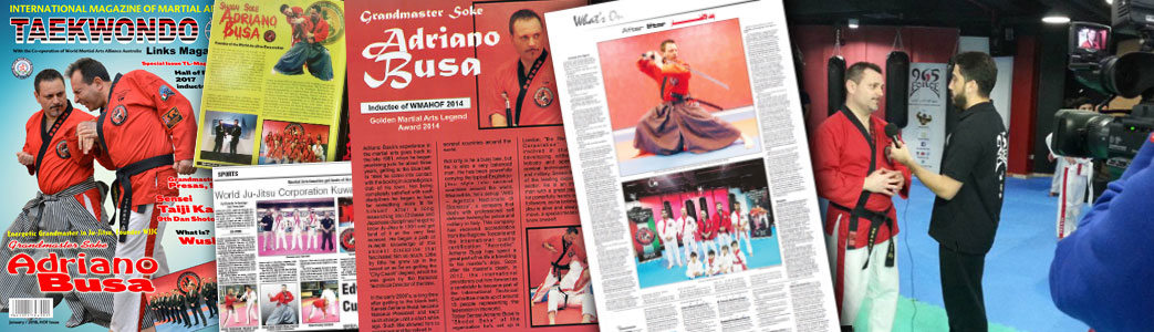 Wjjc Multimedia Ju-Jitsu Interview Soke Adriano Busà World Ju Jitsu Corporation
