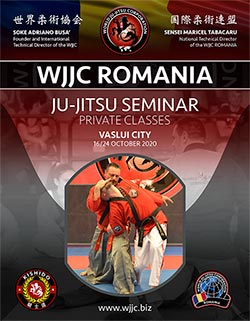 Wjjc Romania Ju Jitsu Seminar 16 24 October 2020
