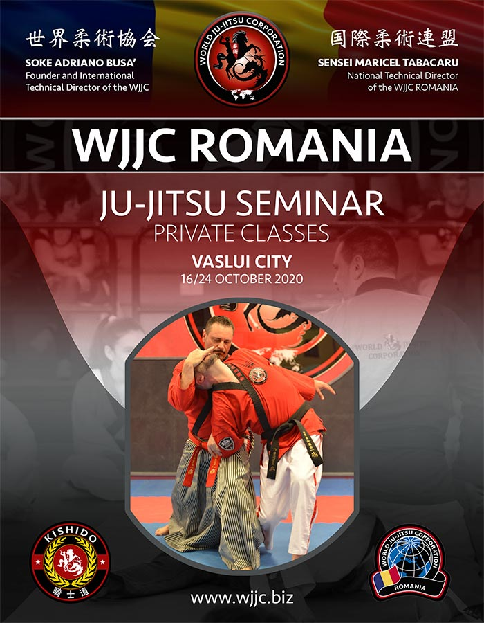 WJJC ROMANIA Ju-Jitsu Seminar 16/24 October 2020
