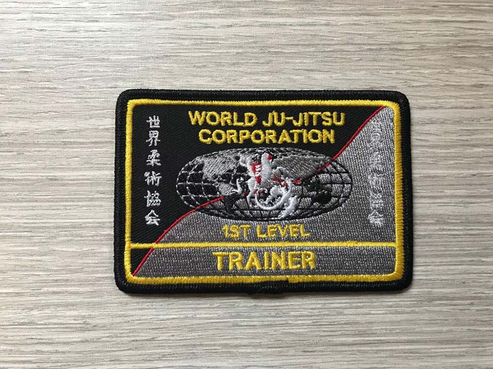 Wjjc Trainer 1st Level Badge World Ju Jitsu Corporation Wjjf