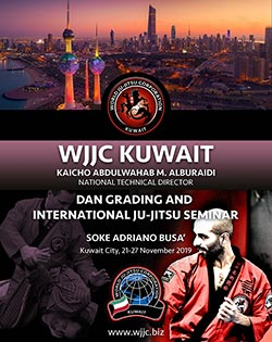 WJJC Kuwait International-Ju-Jitsu Seminar