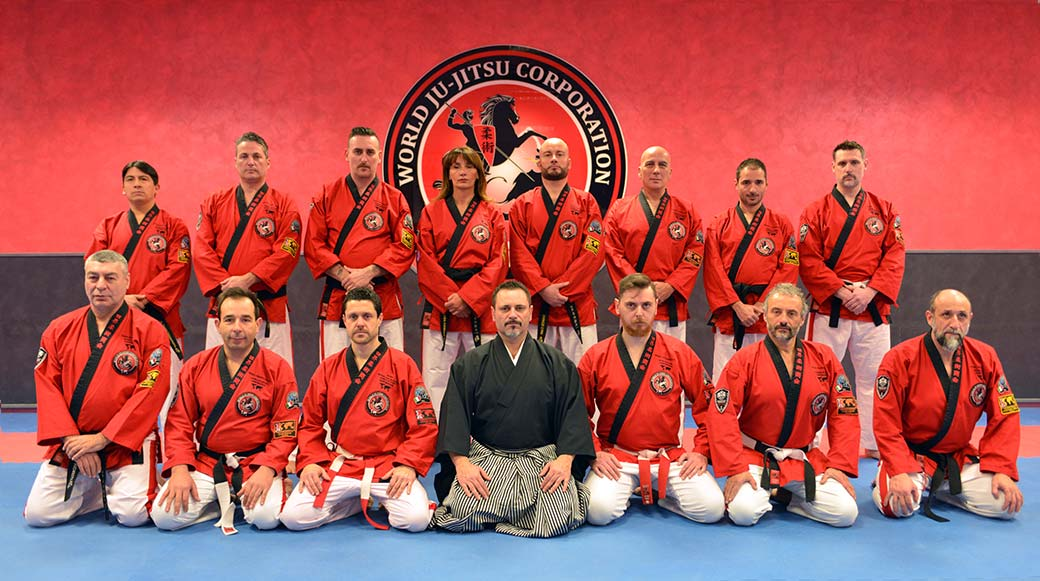 World Ju Jitsu Corporation Black Belts Senior Soke Adriano Busa