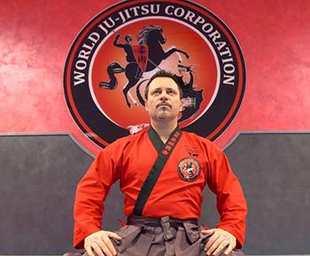 World Ju Jitsu Corporation Shodai Soke Adriano Busa founder and International Technical Director of the Wjjc