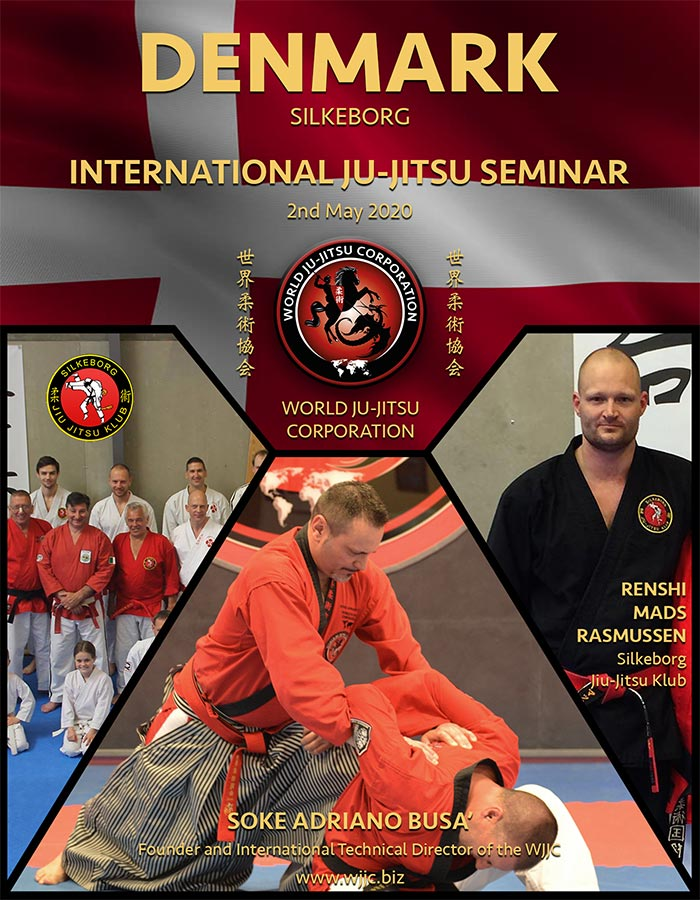 DENMARK - Silkeborg, 2nd May 2020 International Ju-Jitsu Seminar
